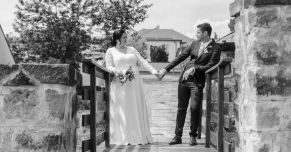 Zámecká svatba v Děčíně: Anička + Míra