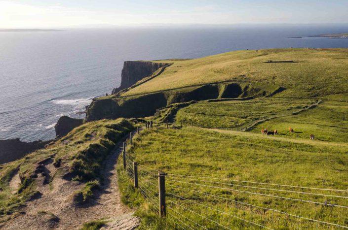 Mohérové útesy v Irsku