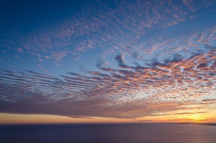 Západ slunce u Mohérových útesů