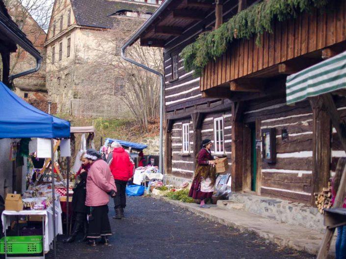 Dokumentace Vánoc ve Skanzenu pro Muzeum Teplice