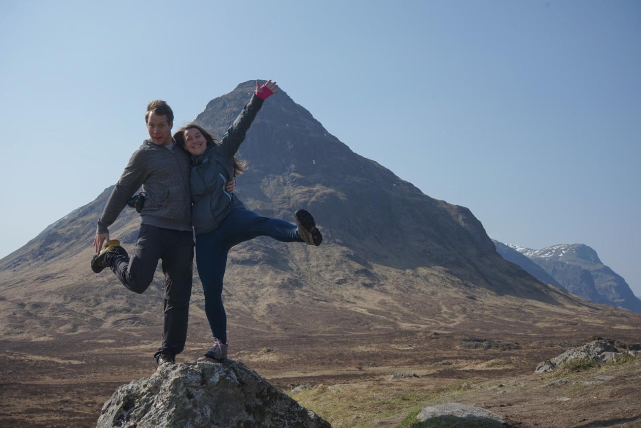Cesta na Isle of Skye, Skotsko