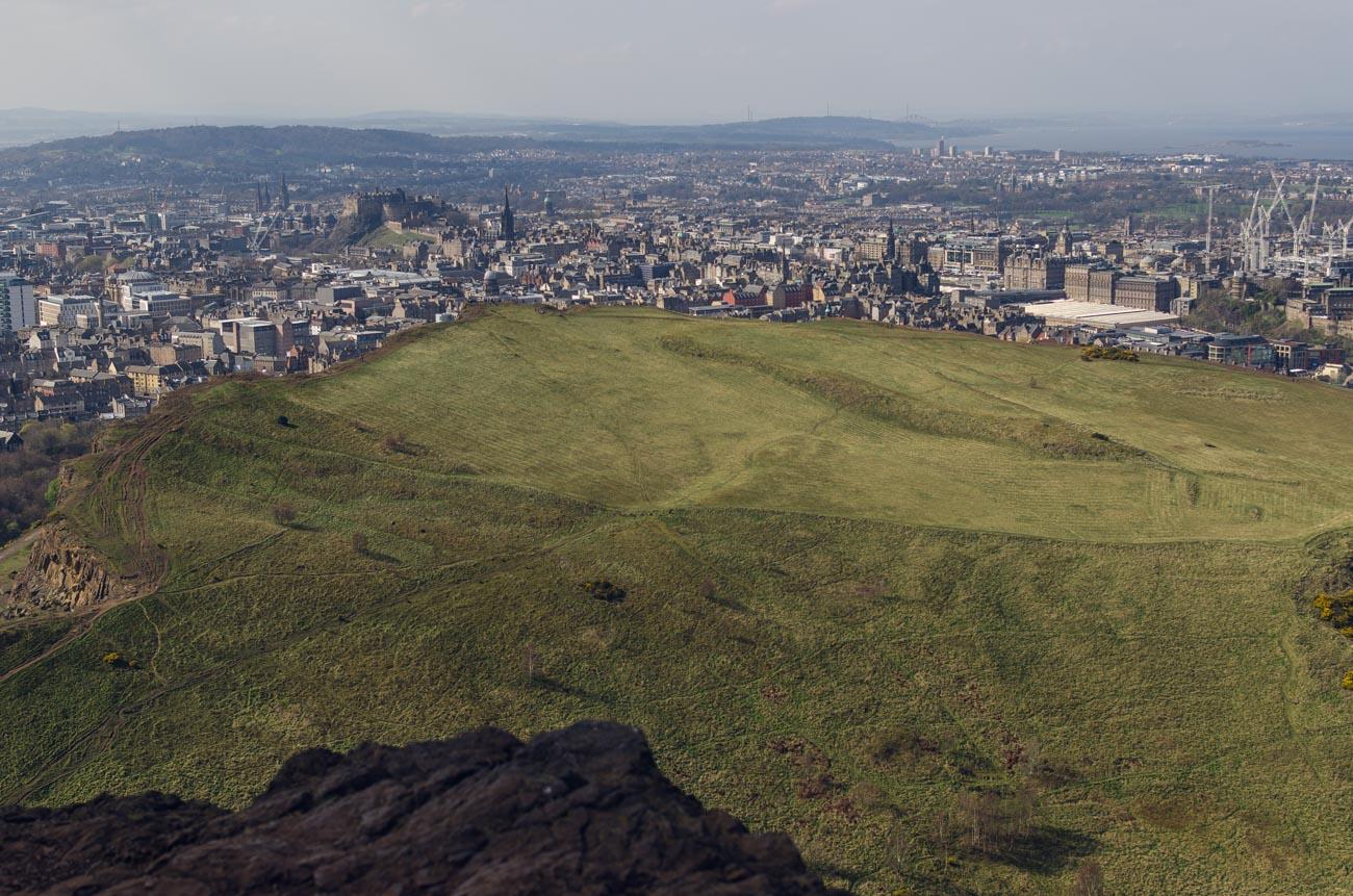 Edinburgh Holyrood park - Arthur´s Seat