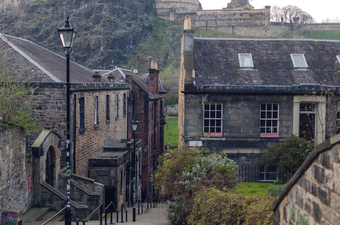 Edinburgh malé uličky