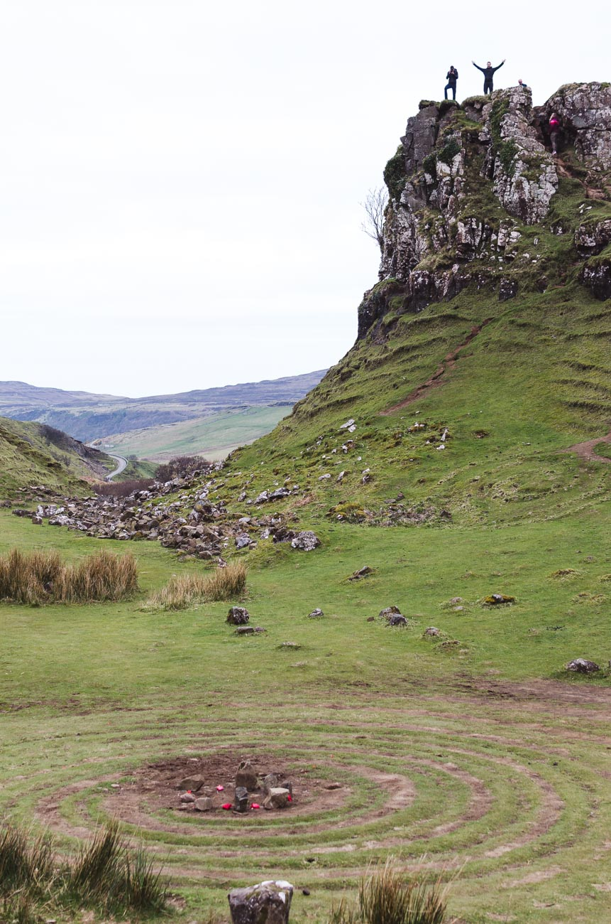 Fairy Glen Isle of Skye - Ewan castle