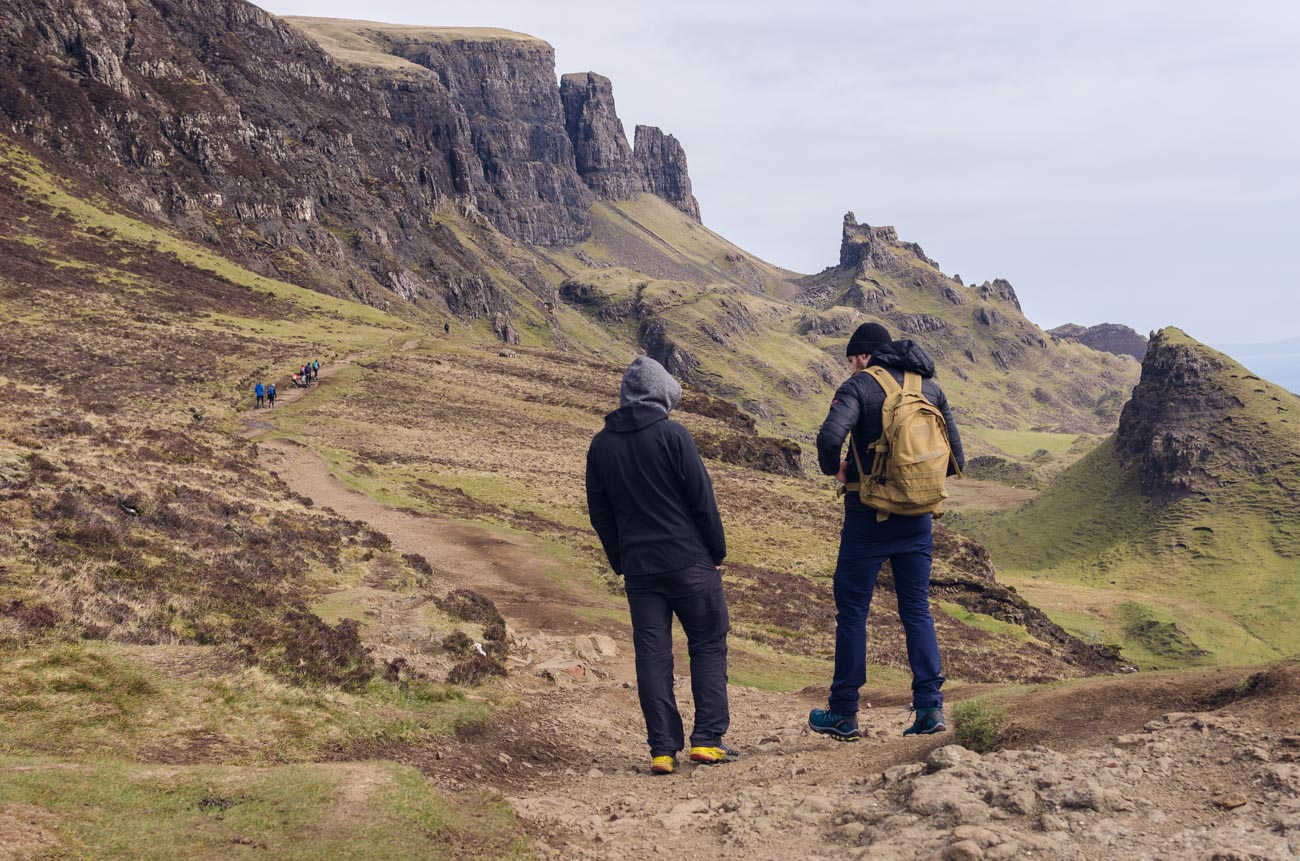 Isla of Skye ve Skotsku - Quiraing