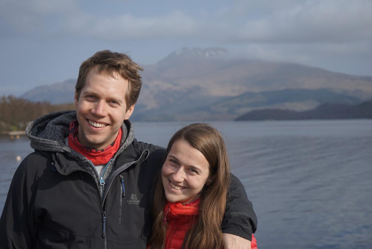Loch Lomond - výlet Skotsko
