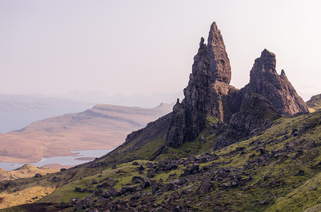 Old Man of Storr - výlet ve Skotsku