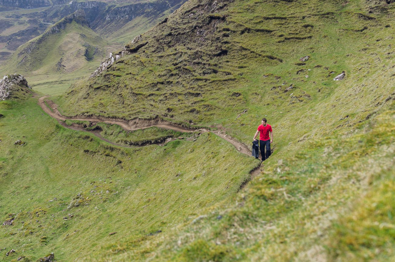 Quiraing na Isle of Skye