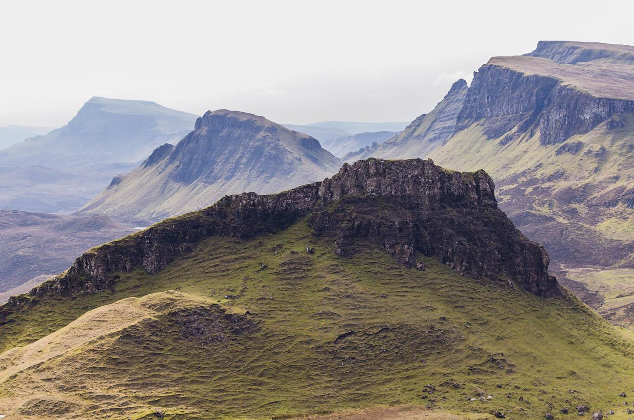 Quiraing ve Skotsku - výhledy