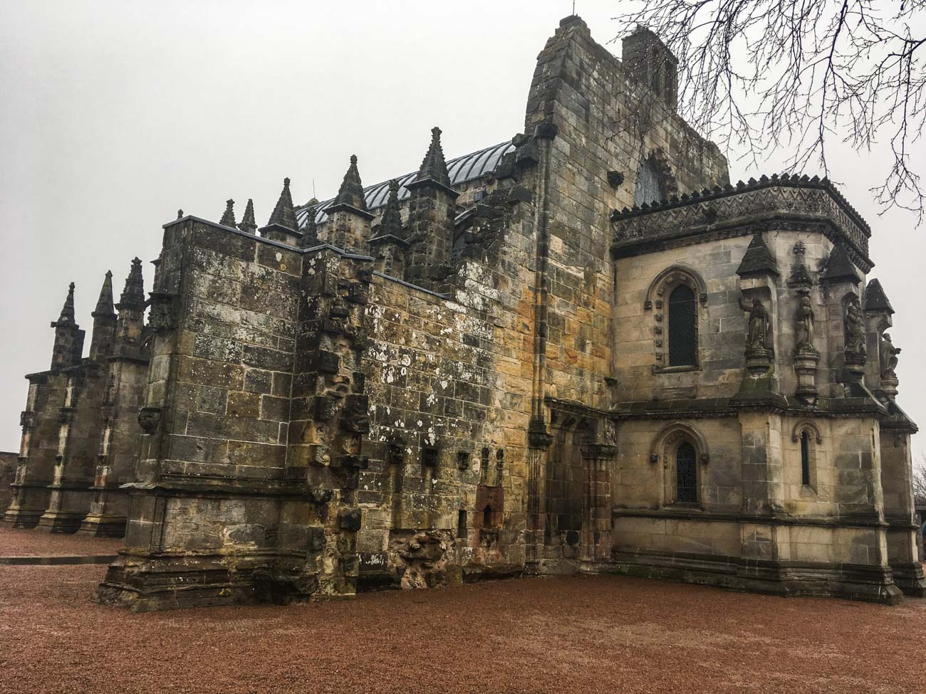 Rosslyn Chapel - skotsko