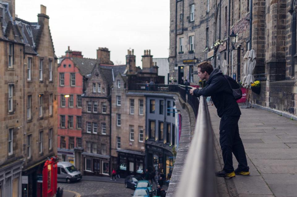 Cestování Skotsko a Edinburgh