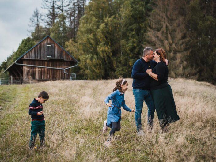 Rodinné focení s Jeníkem a Maruškou