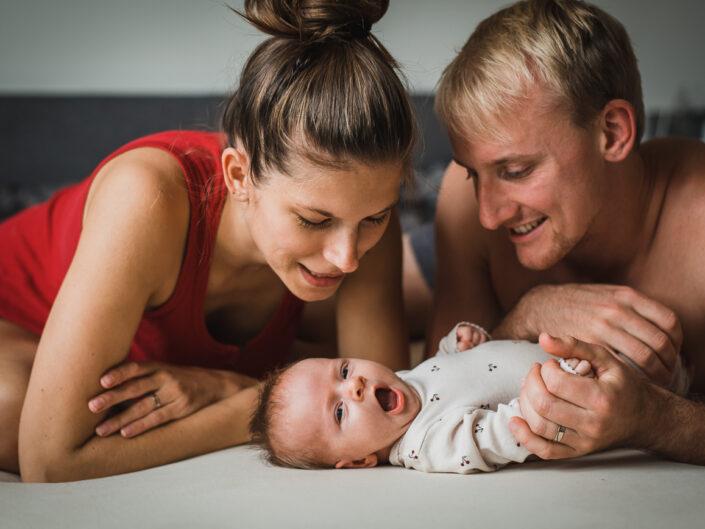 Newborn focení s Rozinkou doma